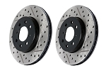 StopTech Slotted & Drilled Rotors / Brembo Brake System